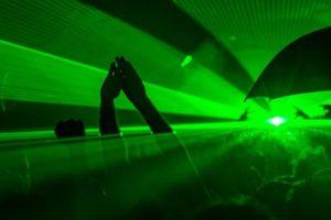 Światła laserowe na imprezę