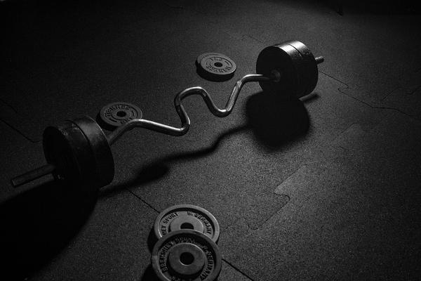 Solidna podłoga do siłowni